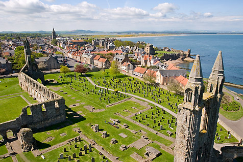 Visit the town of St. Andrews